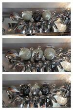 Contemporary Chrome Splash Dish included 3 x Mosaic Balls - Choose colours.
