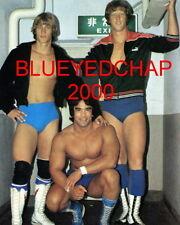 DAVID & KEVIN VON ERICH & RICKY STEAMBOAT  WRESTLER  8 X 10 WRESTLING PHOTO NWA