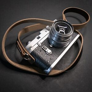 Leather Camera Strap 100cm | 110cm | 120cm (stitched) - Horween Chromexcel