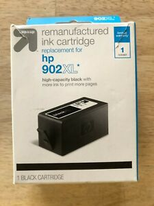 Up & Up Brand - For HP - 902XL - Remanufactured Ink Cartridge  - Black Color
