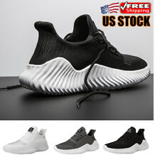 New listing Lightweight Men's Non-slip Comfortable Sneakers Mesh Running Tennis Shoes Gym