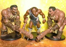 Dungeons & Dragons Miniatures Lot Hill Giant Barbarian Assault !!  s123
