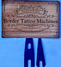 BORDER TATTOO MACHINES (SHADER, PACKER) BLUED 18 GAUGE BACK & FRONT SPRING
