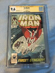 Iron Man #226 (Jan 1988, Marvel) CGC SS 9.6 LAYTON Armor War Part 2 vs Stingray