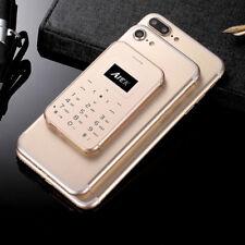 "1.0"" AIEK X8 Simple Bar Ultra Thin Pocket Cell Phone Card Alarm Clock Mobile"