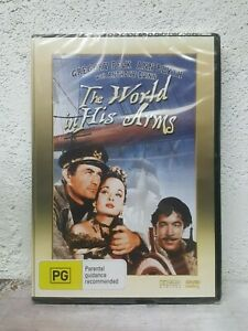 """Gregory Peck & Anthony Quinn Movie """" THE WORLD IN HIS ARMS """" DVD - BRAND NEW"""