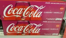 1x 12oz 12pk cherry vanilla coca-cola coke cans