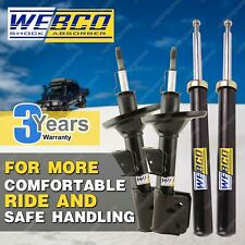 Front + Rear Webco Shock Absorbers for FORD FOCUS LW 1.6 2.0 2011-2015