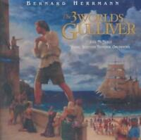 BERNARD HERRMANN (COMPOSER) - THE 3 WORLDS OF GULLIVER NEW CD