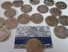 More details for virenium bunc £5 five pounds coins isle of man , gibraltar various scarce coins