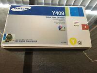 Samsung Genuine CLT-Y409S Y409 Yellow Toner CLP-310/5 CLX-3170/5 BRAND NEW