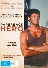 PAPERBACK HERO with Hugh Jackman DVD, NEW & SEALED. REGION 4, FREE POST