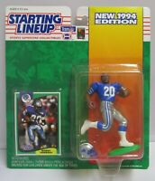 1994  BARRY SANDERS Starting Lineup (SLU) Football Figure & Card - DETROIT LIONS