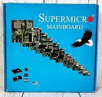 Supermicro Super Mainboard P6DBE Motherboard Intel Pentium - NEW Vintage 1999