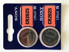 2 SONY CR2025 DL2025 CMOS Lithium 3V Watch Battery Exp 2027 Ships FREE from USA!