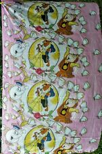 Disney Beauty And The Beast Twin Flat Top Sheet Crafters
