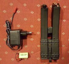 BATTLEAXE mp5 Magazine, ca 500 BBS, avec moteur de propulsion, HighCap, airsoft, pistole