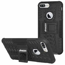 AMZER Shockproof Hybrid Rugged Warrior Armor Case Cover for Cellphones
