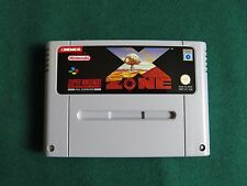X - ZONE SNES PAL GAME - SCANDINAVIAN VERSION IN ENGLISH by KEMCO