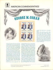 #99 13c George M. Cohan #1756 USPS Commemorative Stamp Panel