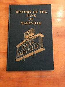 History Of The Bank Of Maryville Book 1885-1979 Tennessee Bank Collector