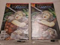 Magic The Gathering Fallen Empires #1 Acclaim Comic Book SEALED Lot of 2 Books