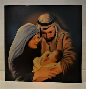 6 x Deluxe Nativity Mary Joseph Baby Jesus Christian Religious Christmas Cards