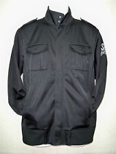 "EXPRESS - Men's Track Top Jacket - Black - ""Upon The Wings"", ""Salvation"" -Size M"