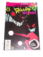 HARLEY QUINN #13 (NM-) JOKER Last Laugh Tie-In! Suicide Squad Movie! LQQK!