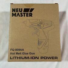 Cordless Hot Glue Gun Rapid Heating Mini Kit Premium Stick New W/ 12 Glue Sticks