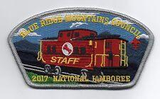 Blue Ridge Mountains 2017 Staff JSP, Gray Brd, Train Theme (Caboose), Mint!