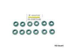 Goetze 12x Ventilschaftabdichtung passend für 993 Porsche Ventilschaft Dichtring