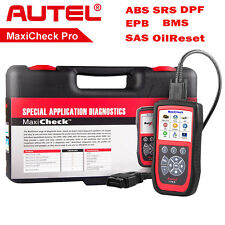 Maxicheck Pro OBD2 Code Scanner Automotive Diagnostic Tools ABS SRS SAS DPF EPB
