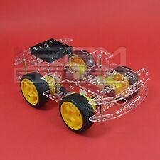 KIT robot 4 ruote - chassis piattaforma shield arduino pic - ART. CS06