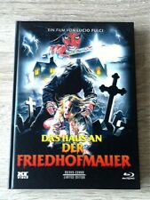 House By The Cemetery (Fulci) Rare German Xt Mediabook Blu-Ray/Dvd