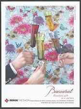 BACCARAT Crystal Glassware - Print Ad