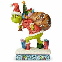 Enesco Dr. Seuss The Grinch by Jim Shore Tip Toeing Figurine