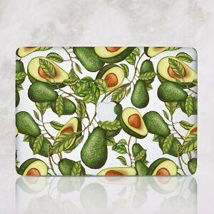 Avocado Vegan Macbook 12 Pro 13 15 Air 11 13 Top Bottom Printed Cover Case 2018