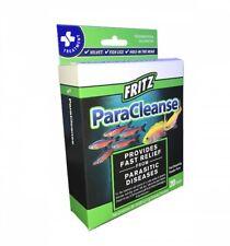 Fritz ParaCleanse Parasitic Fish Medication 20ct Package Aquarium Fritz Mardel