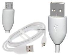 Original HTC USB Micro Datenkabel für HTC Butterfly Ladekabel Weiß