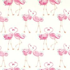 Laura Ashley Pretty Flamingo Pink Wallpaper (1 Roll) FREE DELIVERY
