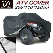 XXXL ATV Cover Waterproof Protector For Polaris Honda Suzuki Yamaha Can-Am Black