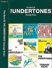 Undertones Best Of The Undertones Teenage Kicks CASSETTE ALBUM Rock Punk 25TRACK