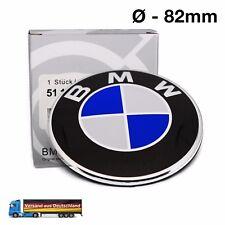 BMW Emblem 82mm Logo Zeichen Abdeckung Motorhaube Kofferraum Heckklappe 82 mm