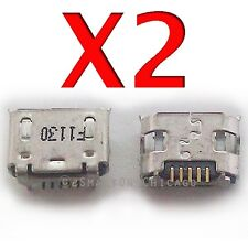 2X ZTE Warp N860 X501 D930 V8000 Micro USB Charging Port Charger Dock Connector