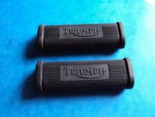 GENUINE TRIUMPH PILLION FOOTREST RUBBER X2  1938-70  3TA  5T TIGER100  6T  T120