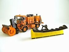 "Oshkosh Truck w/ Snow Blower & Snow Plow - ""ORANGE"" - 1/50 - TWH #072-01056"