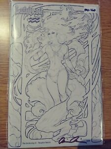 LADY DEATH RECKONING 1 NM/MINT [NAUGHTY SKETCH VARIANT SIGNED 12/88] PA12-260
