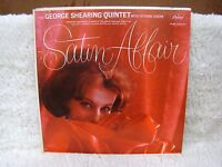Satin Affair: The George Shearing Quintet with String Choir Vinyl Album, Capitol