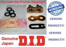 DID 525 VX Gold clip type Chain Master Joining Link 525VX joiner D.I.D